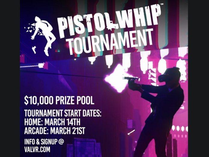 If you're John Wick enough, you can win $10,000 playing Pistol Whip