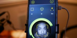 This smartphone sensor can detect live skin to halt facial login spoofing