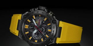 Glorious luxury G-Shock watch pays homage to Bruce Lee with iconic color scheme