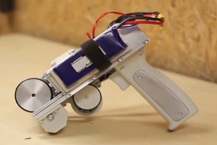 Terrifying handheld blaster can fire playing cards at 120 miles per hour
