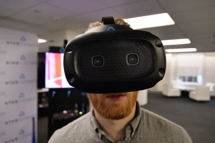 With new swappable faceplates, the Vive Cosmos is now a modular VR platform