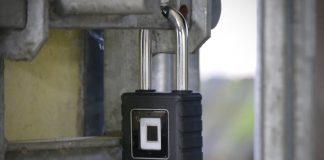 Master Lock's fingerprint-secured padlock means never losing fiddly keys again