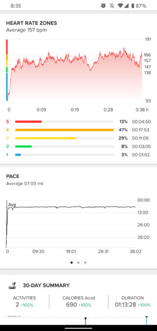 suunto 7 review workout treadmill run suunto app 2