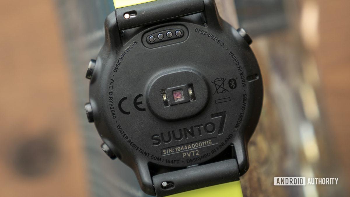 suunto 7 review heart rate sensor