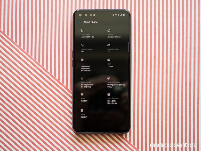 Realme X50 Pro 5G specs: Snapdragon 865, 90Hz display, 65W fast charging