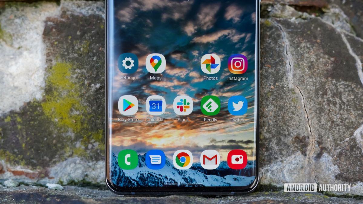 Samsung Galaxy S20 Ultra app drawer