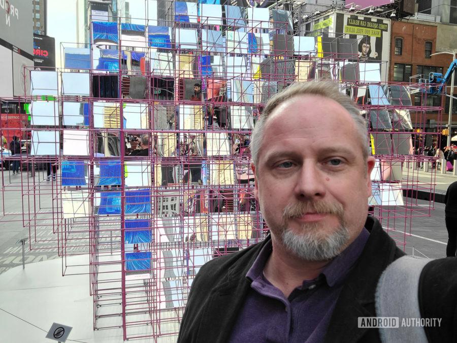 Samsung Galaxy S20 Ultra 5G photo sample selfie