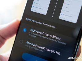 How to change the Galaxy S20 refresh rate: 120Hz or 60Hz