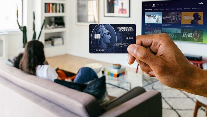What kind of rewards does the Amex Blue Cash Preferred Card from offer?