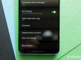 How to enable Wi-Fi calling on the Galaxy S20