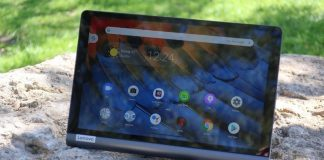 The Lenovo Yoga Smart Tab is one Android tablet that stands out (and up)