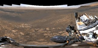This 1.8 billion-pixel photo of Mars took the Curiosity rover 4 days to shoot
