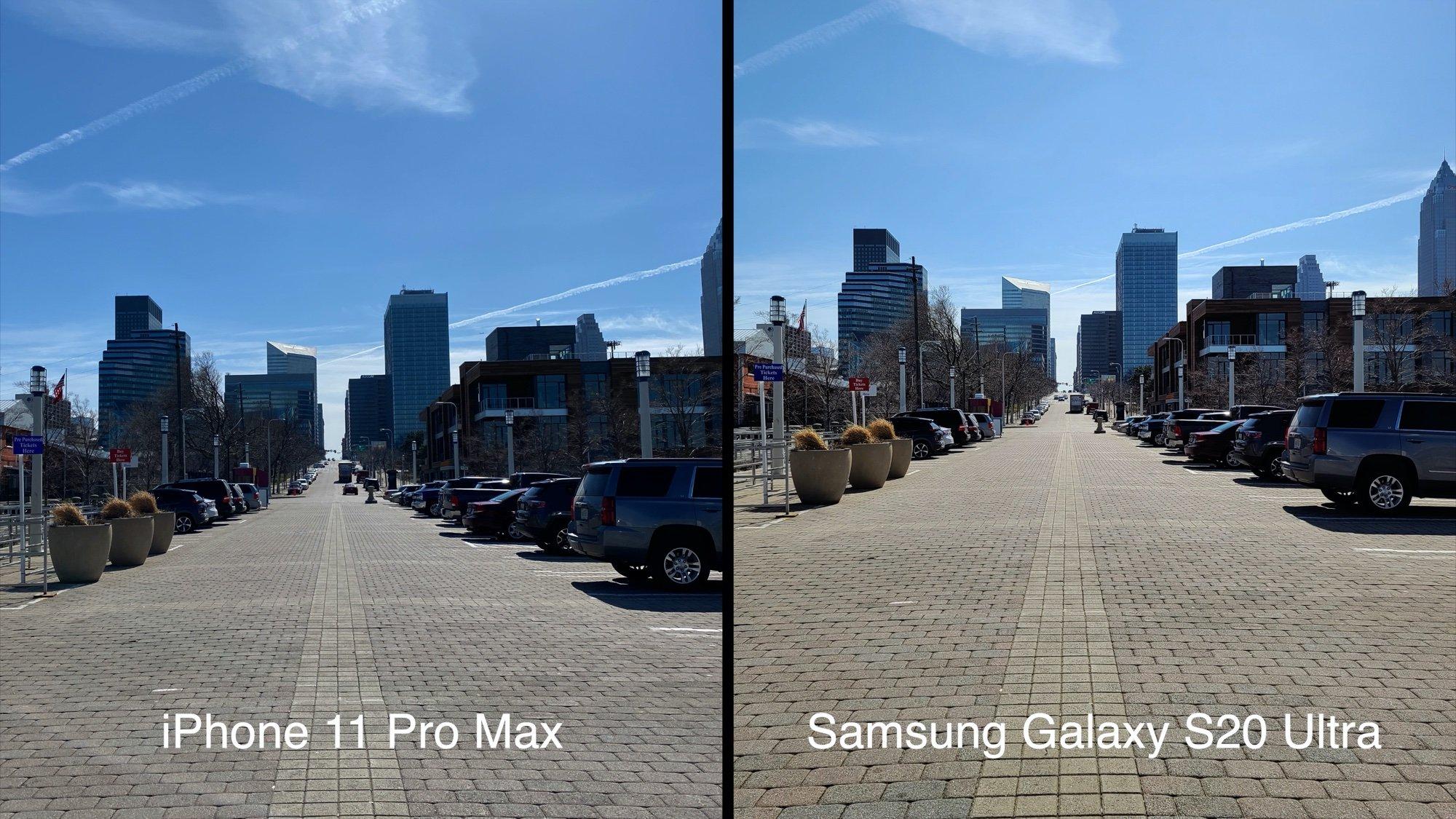 Ảnh chụp từ Samsung Galaxy S20 Ultra - So cùng iPhone 11 Pro Max