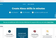 How to build your own Alexa skills with Alexa Blueprints