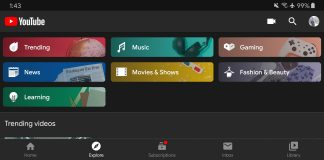 YouTube replaces Trending tab in Mobile app with Explore tab
