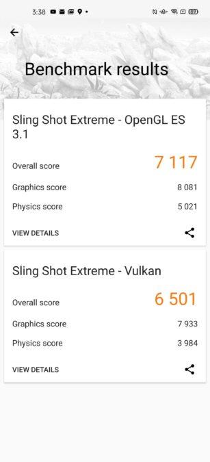 Oppo Find X2 Pro 3D Mark Score