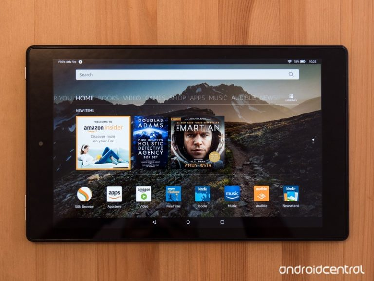 An Amazon tablet is perfect for the kids while they're out of school