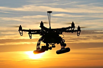 Spanish police are using drones to scold citizens who go outside