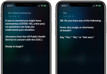 Siri Now Provides Coronavirus Advice From CDC and U.S. Public Health Service