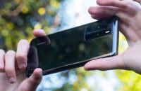Huawei P40 Pro Rear housing zoomed in