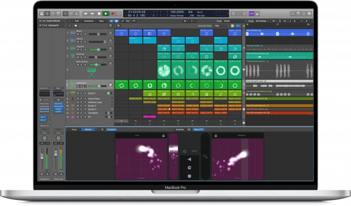 Seemingly Unreleased Version of Logic Pro X With Live Loops Appears on Apple's Education Site