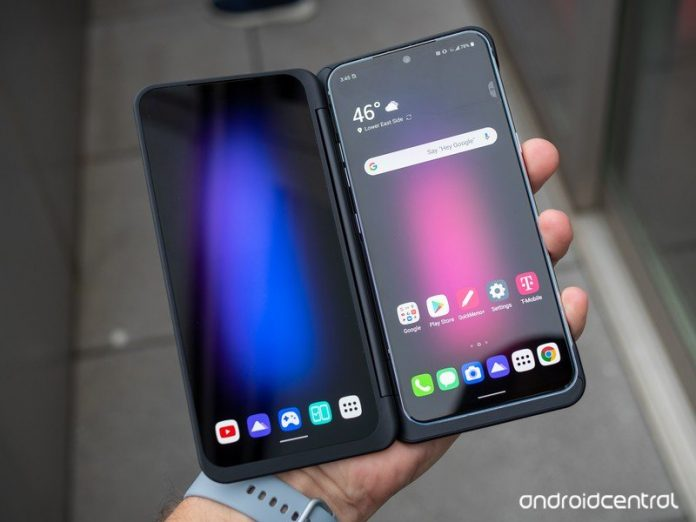 Surprise! The LG V60 and its Dual Screen accessory both have pen support