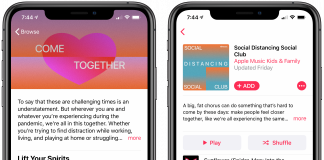 Apple Music Shares Playlists Aimed at Lifting Your Spirits While Social Distancing