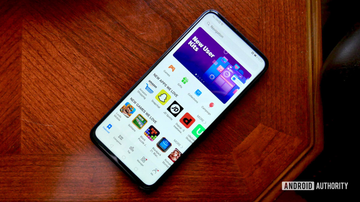 honor 9x pro review app gallery home