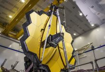 Watch the James Webb Space Telescope deploy its massive origami mirror