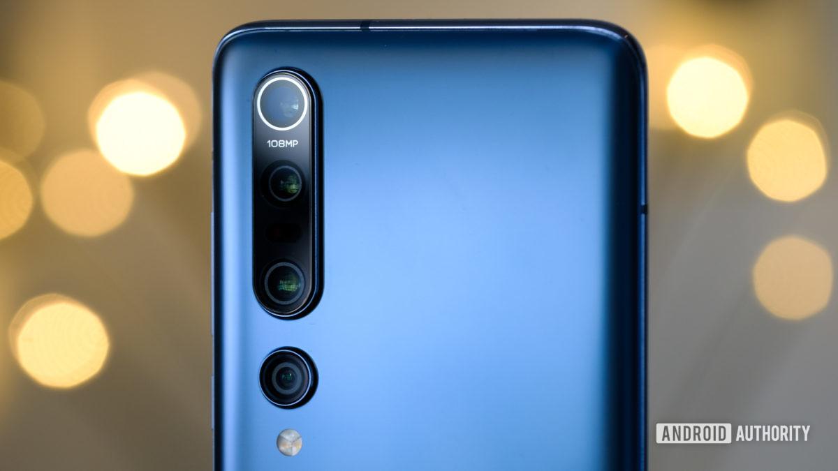 Xiaomi Mi 10 Pro cameras