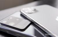 Samsung Galaxy S20 Ultra vs Apple iPhone Pro Max 1