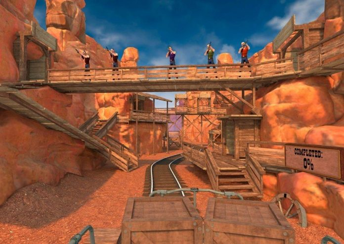 You can shoot up the ol' West in the latest game to join the Oculus Quest