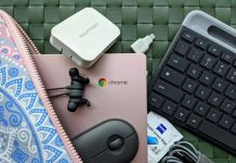 Using your Chromebook with a monitor, mouse and keyboard