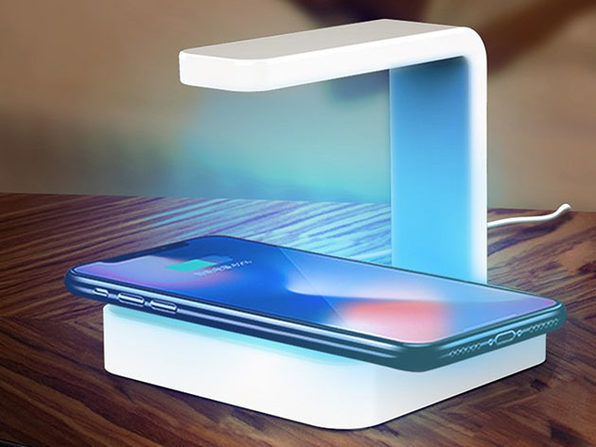 Just $38, this wireless charger sanitizes your phone