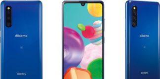 Samsung Japan announces mid-range Galaxy A41