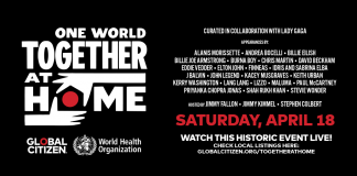 Apple, Amazon, YouTube and Others to Live Stream 'One World: Together At Home' Virtual Concert