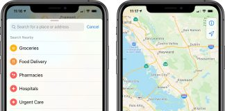 Apple Maps Focuses on Groceries, Food Delivery, Pharmacies and Hospitals When Searching
