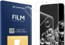 Keep your Galaxy S20 Ultra's display pristine with these screen protectors