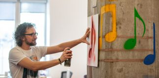 This spray paint lets you turn on your lights or change the TV channel with a touch