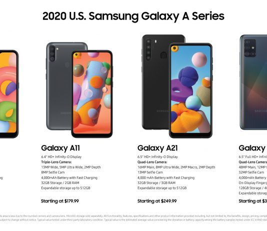 Samsung serves up new Galaxy A phones for US, including 5G models