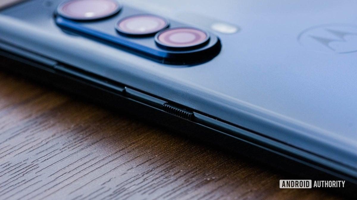 Motorola Edge buttons macro 1