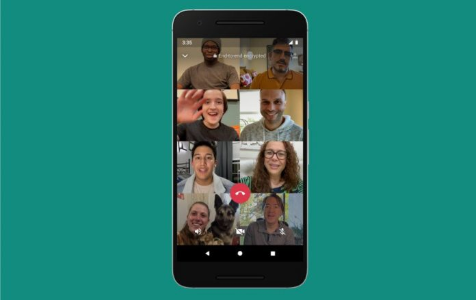How to Group Video Chat With Up to Eight People in WhatsApp