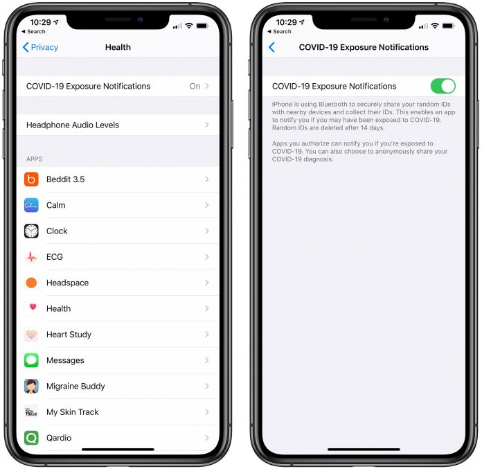 How to Opt Out of COVID-19 Exposure Notifications in iOS 13.5