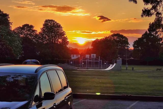 xiaomi mi 10 pro review sunset
