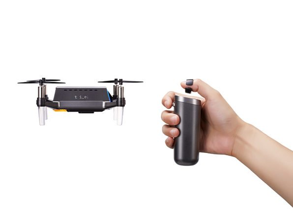 Use this coupon to save an extra 20% on this beginner quadcopter you control with a thumb