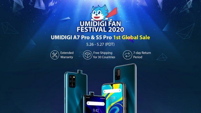 UMIDIGI Fan Festival goes live with big discounts on S5 Pro, A7 Pro