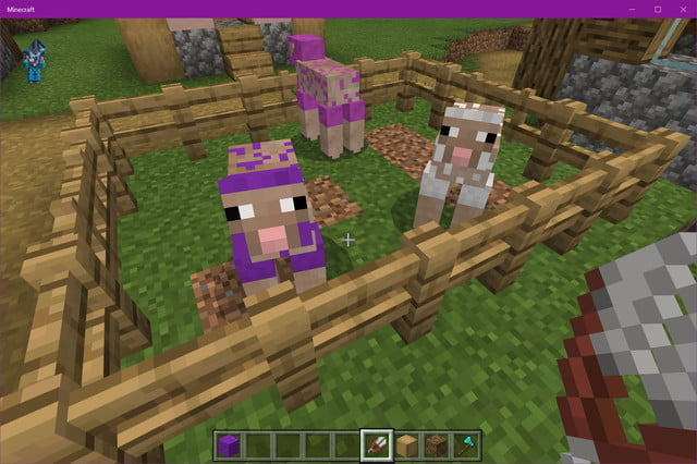 how to make a bed in minecraft naked sheep