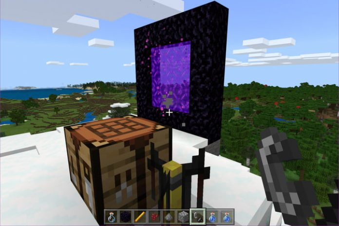 How to make potions in Minecraft