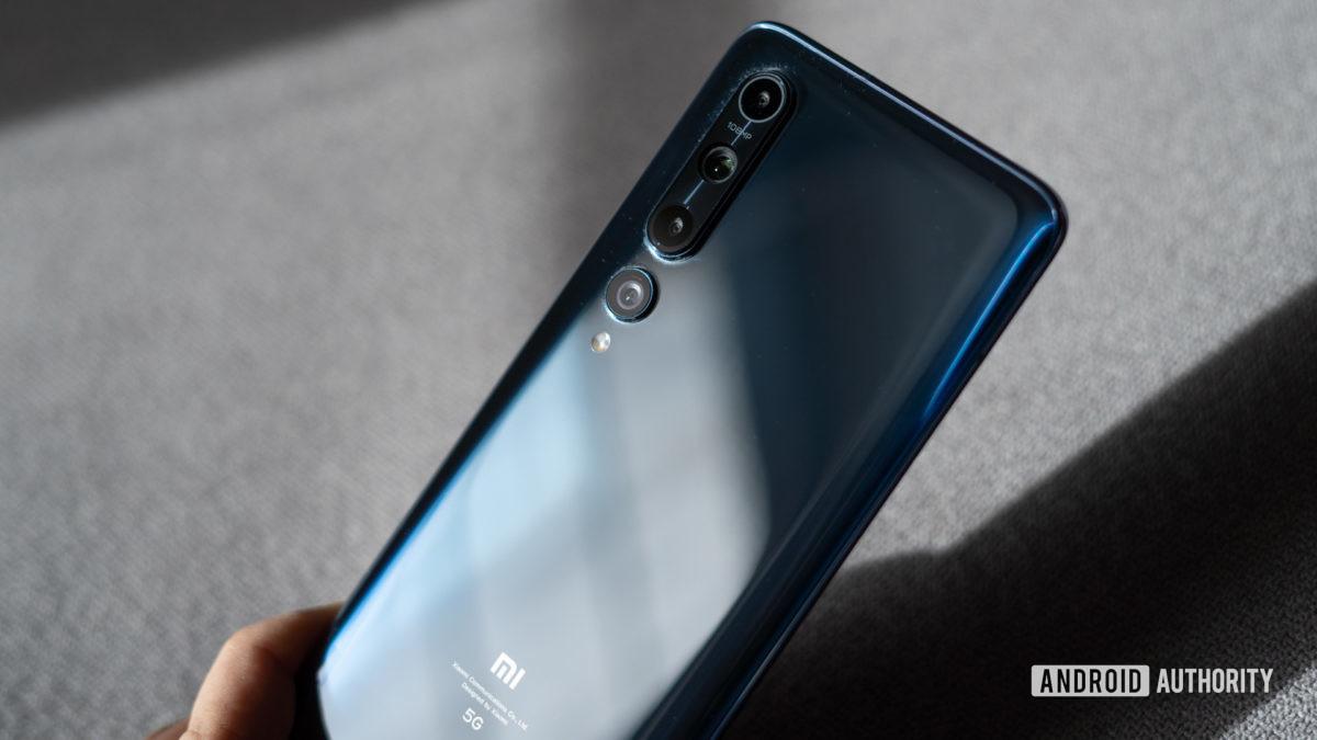 Xiaomi Mi 10 rear camera module