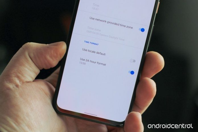 Here's how to switch from 12-hour to 24-hour time on Android